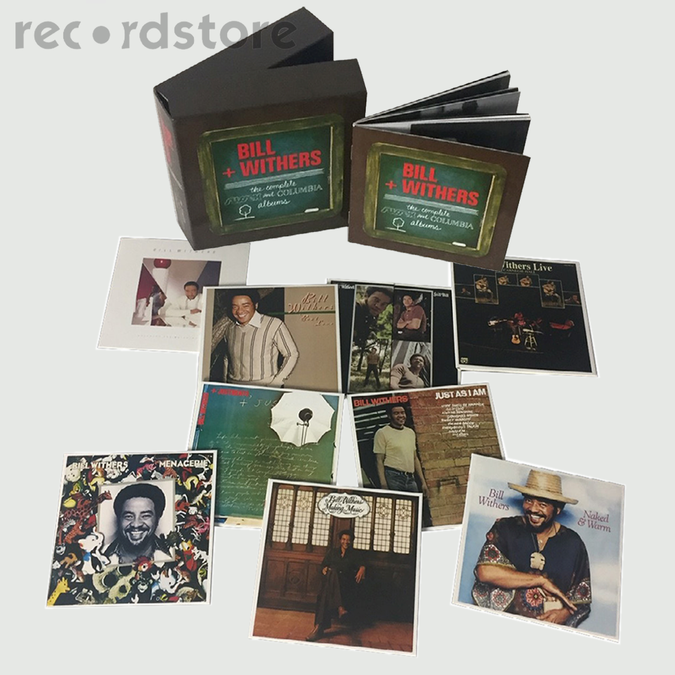 Bill Withers: The Complete Sussex and Columbia Album Masters: Limited Edition CD Box Set