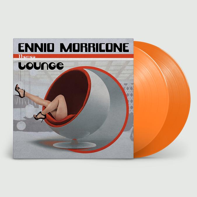 Ennio Morricone: Lounge: Limited Edition Gatefold Solid Orange Vinyl