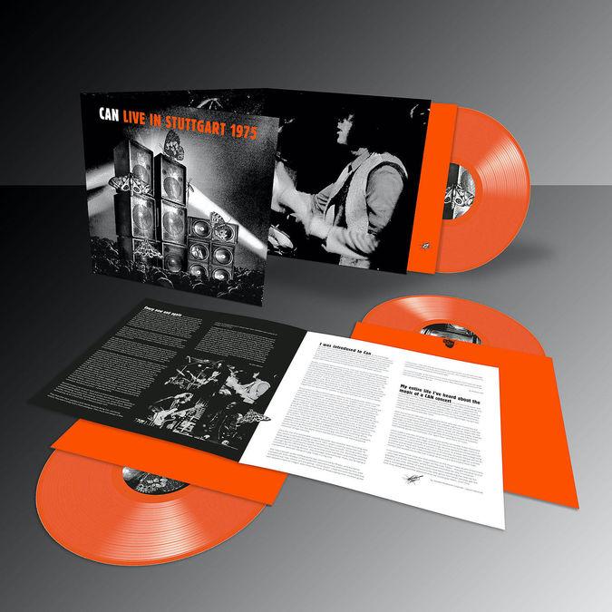 Can: Live in Stuttgart 1975: Limited Edition Triple Orange Vinyl