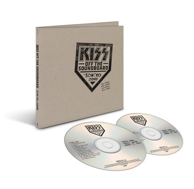 Kiss: Off The Soundboard: Tokyo Dome – Tokyo, Japan 3/13/2001: 2CD