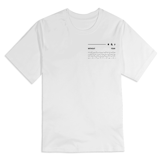 Dermot Kennedy: Orbit Short Sleeve White Tee - S