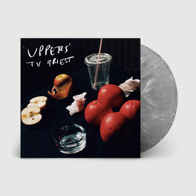 TV Priest: Uppers: Loser Edition Grey Marble Vinyl