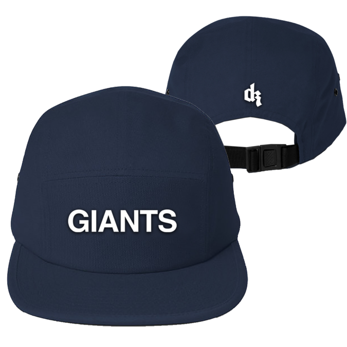 Dermot Kennedy: Giants Navy 5-Panel Cap