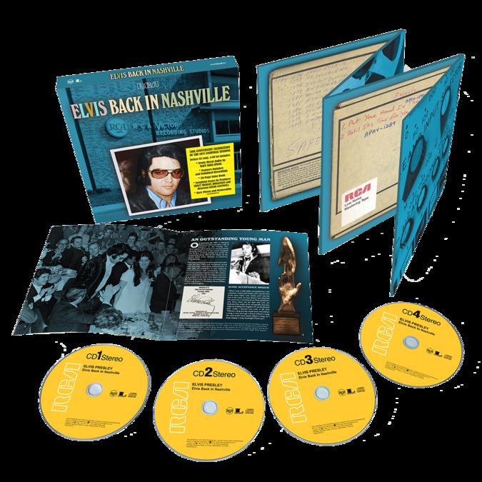 Elvis Presley: Back In Nashville: 4CD