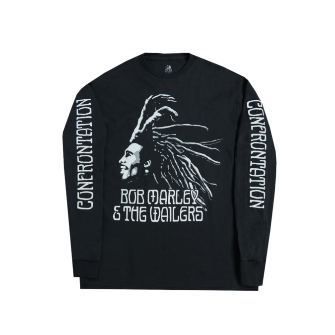 Bob Marley: Confrontation Long Sleeve Shirt S