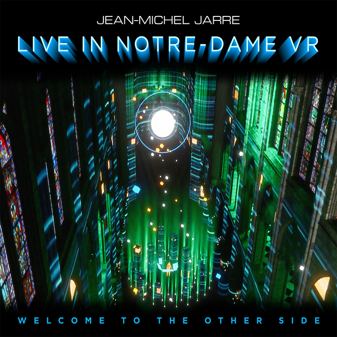 Jean-Michel Jarre: WELCOME TO THE OTHER SIDE: Live In Notre Dame VR: CD + Blu-Ray
