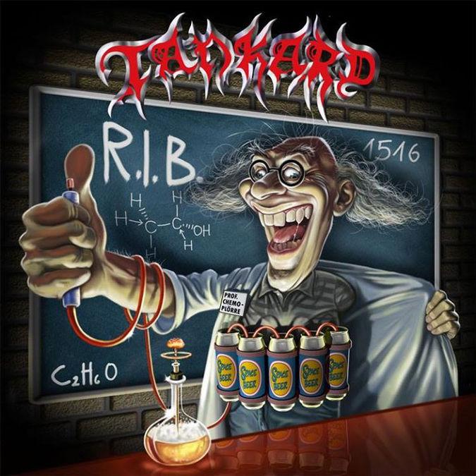 TANKARD: R.I.B.: Limited Edition Gatefold