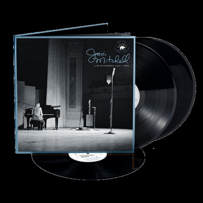Joni Mitchell: Live at Carnegie Hall 1969: Black Vinyl 3LP