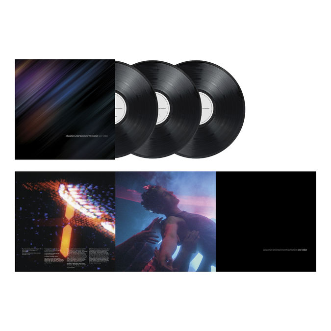 New Order: Education Entertainment Recreation: Limited Edition Triple Vinyl