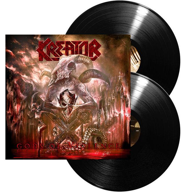 Kreator: Gods Of Violence: Ltd. Edition Gatefold
