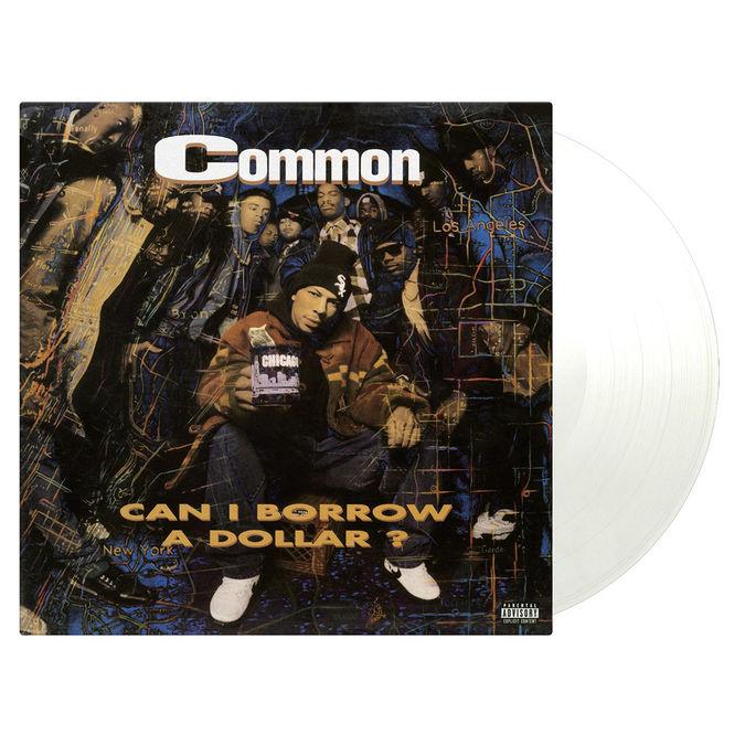 Common: Can I Borrow A Dollar: Limited Transparent Vinyl