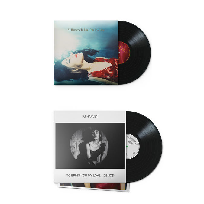 PJ Harvey: To Bring You My Love LP + Demos LP: Limited Edition Bundle