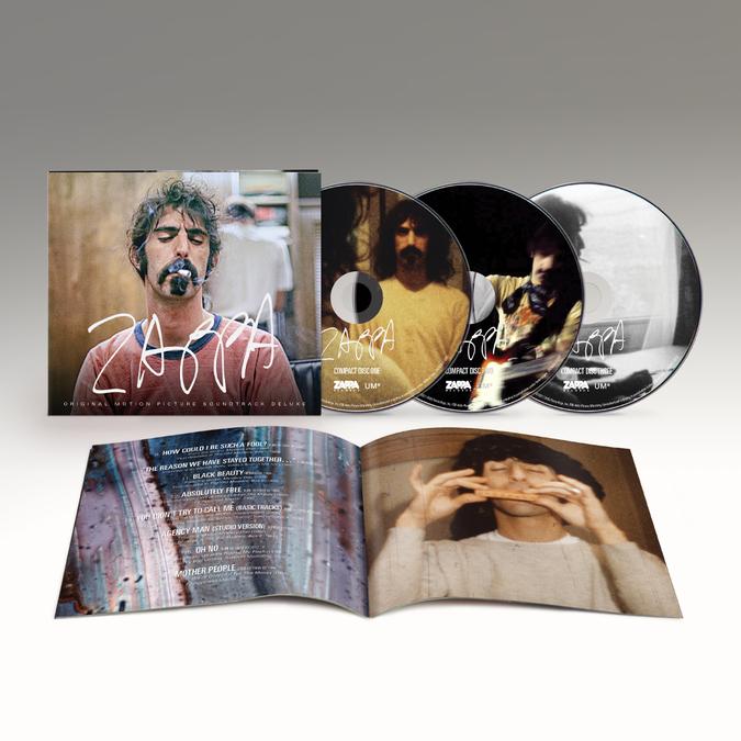 Frank Zappa: ZAPPA (Original Motion Picture Soundtrack): Triple CD