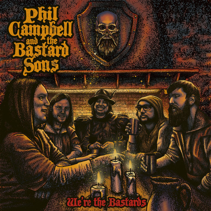 Phil Campbell: We Are The Bastards: CD
