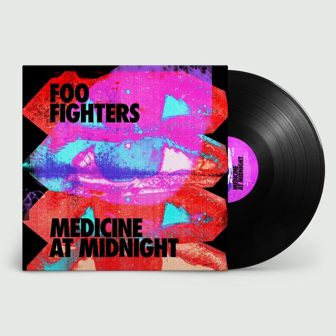 Foo Fighters: Medicine At Night: Black Vinyl