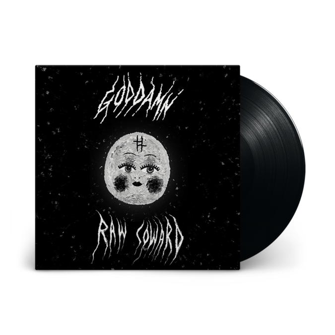 God Damn: Raw Coward: Signed Vinyl LP
