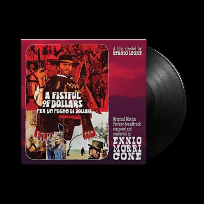 Ennio Morricone: A Fistful Of Dollars: Limited Edition Gatefold 10