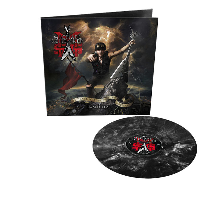 MSG: Immortal: Limited Edition Gatefold Black/White Marbled Vinyl