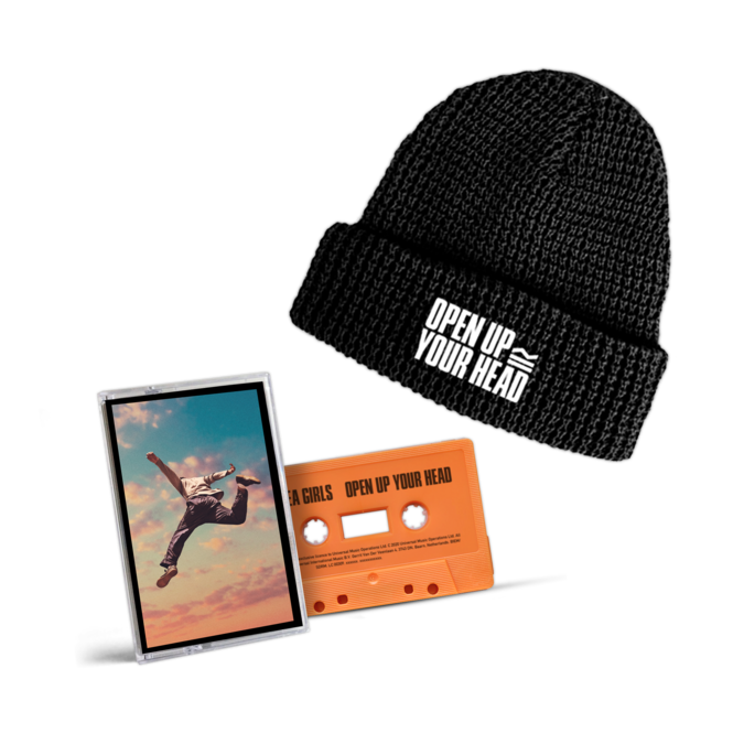 Sea Girls: Open Up Your Head Beanie + Cassette