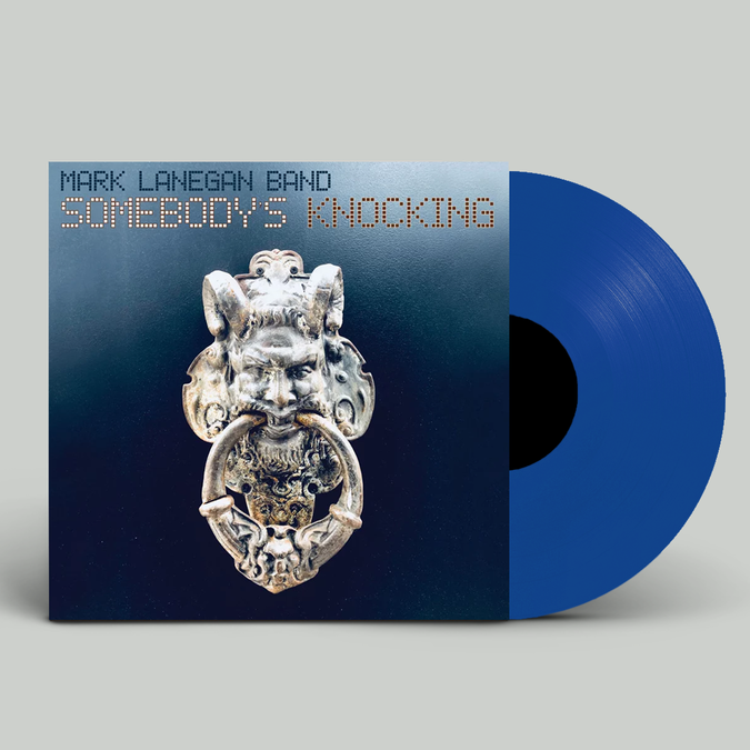 Mark Lanegan Band: Somebody's Knocking: Limited Edition Double Blue Vinyl with Exclusive Signed Print
