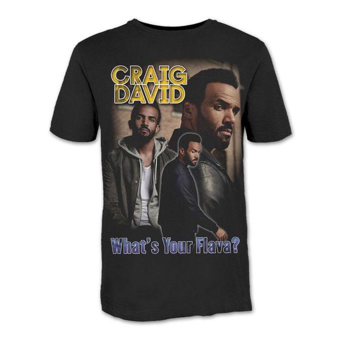 Craig David: What's Your Flava? T-Shirt