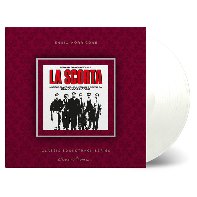 Ennio Morricone: La Scorta: Clear Vinyl
