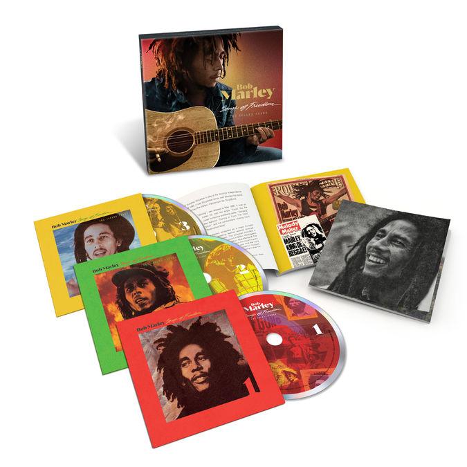 Bob Marley and The Wailers: Songs Of Freedom: The Island Years 3CD Set