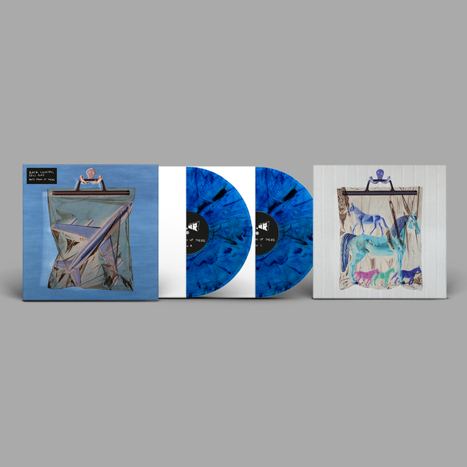 Black Country, New Road: Ants From Up There: Limited Edition Blue Marbled Vinyl 2LP