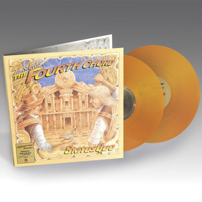 Status Quo: In Search Of The Fourth Chord: Limited Edition Orange Vinyl