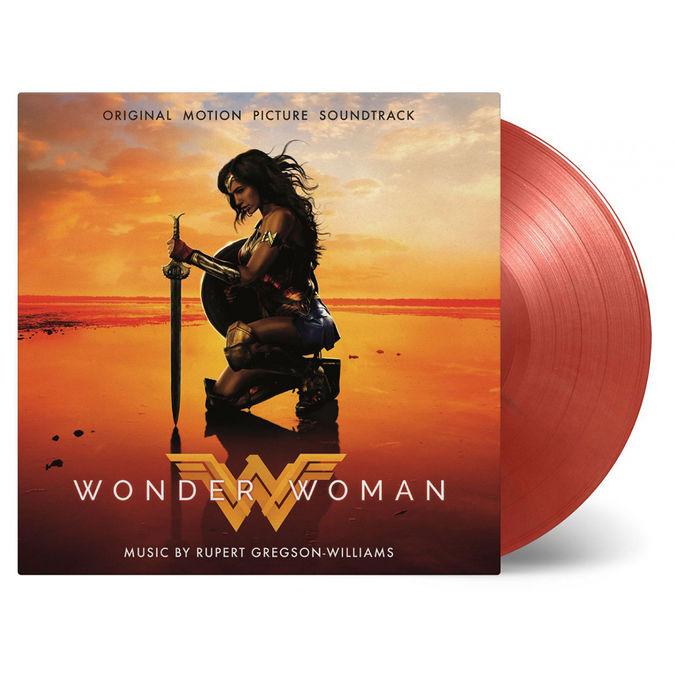 Original Soundtrack: Wonder Woman: DC Comics Limited Edition Red & Gold Marbled Vinyl