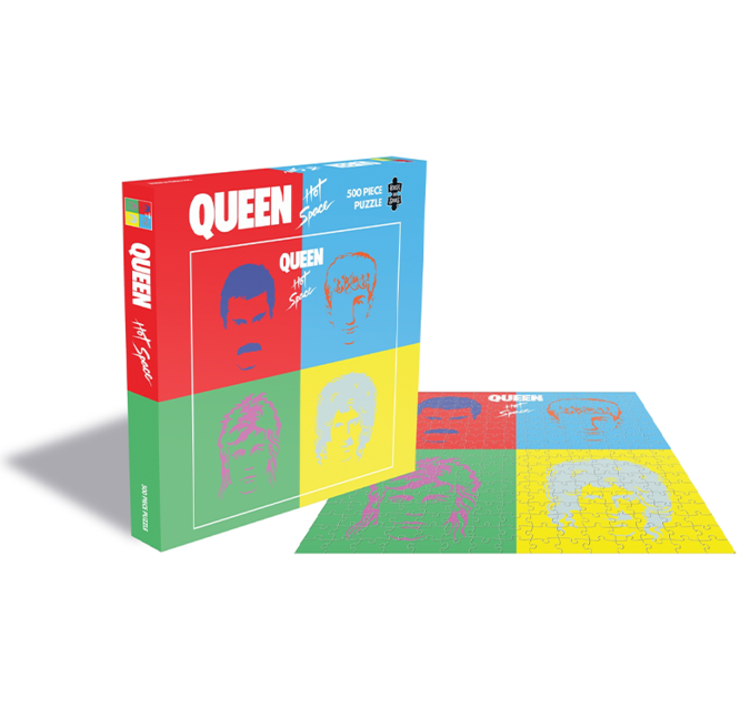 Queen: Hot Space (500 Piece Jigsaw Puzzle)