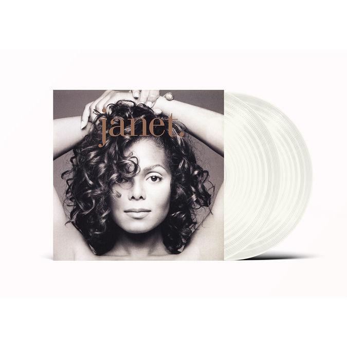 Janet Jackson: Janet: Exclusive Clear Coloured Vinyl
