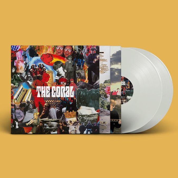 The Coral: The Coral: 20th Anniversary Limited Edition Gatefold White Vinyl