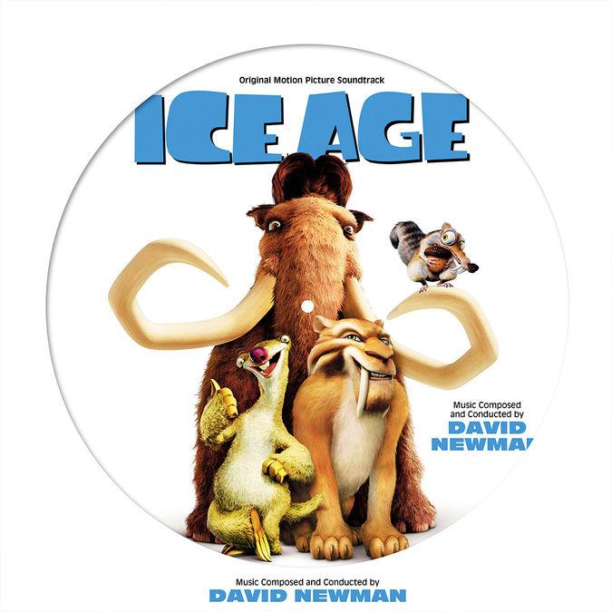 David Newman: Ice Age - Original Motion Picture Score Picture Disc