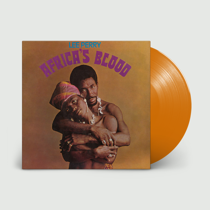 Lee Perry: Africa's Blood: Limited Edition Orange Vinyl