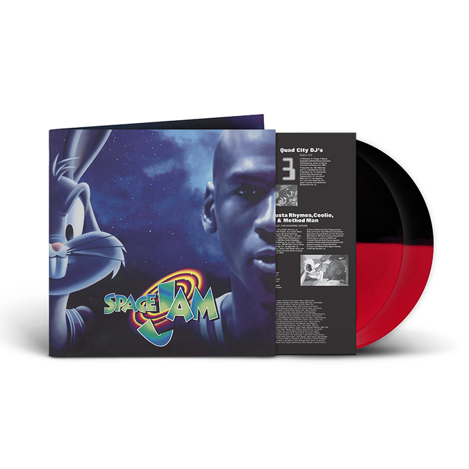 Original Soundtrack: Space Jam: Limited Edition Red And Black Vinyl