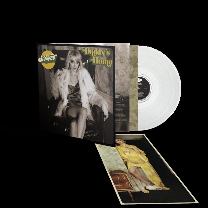 St. Vincent: Daddy's Home: Limited Edition Gatefold Transparent Vinyl LP