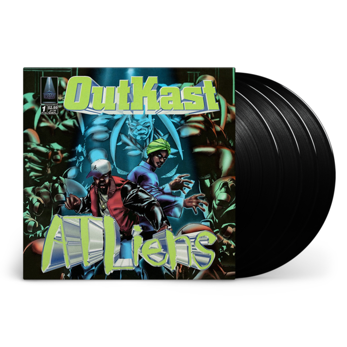 Outkast: ATLiens: 25th Anniversary Deluxe Edition Vinyl 4LP