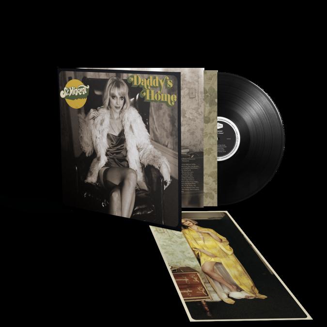 St. Vincent: Daddy's Home: Gatefold Black Vinyl LP