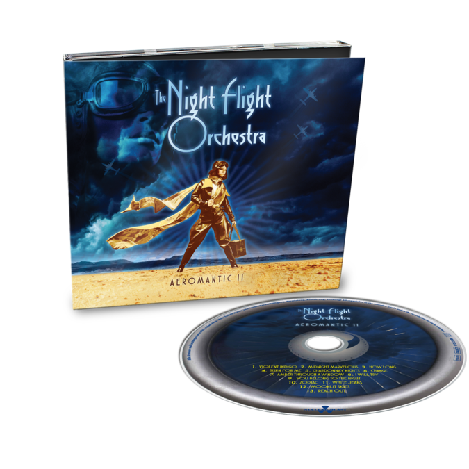 The Night Flight Orchestra: Aeromantic II: Limited Edition Digipack CD + Signed Photocard