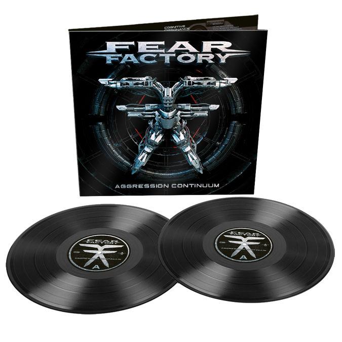 Fear Factory: Aggression Continuum: Gatefold Black Vinyl 2LP