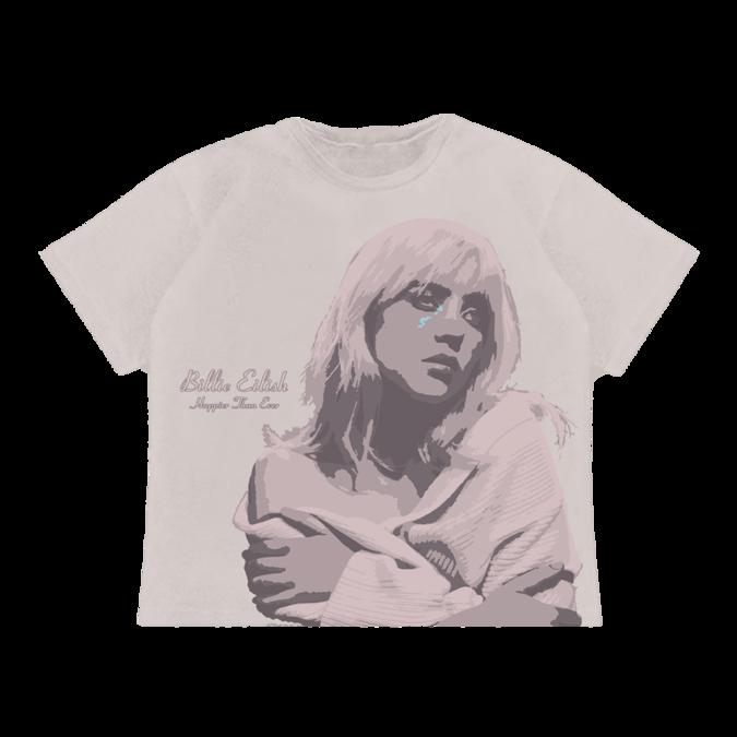 Billie Eilish: Rose Cover T-Shirt