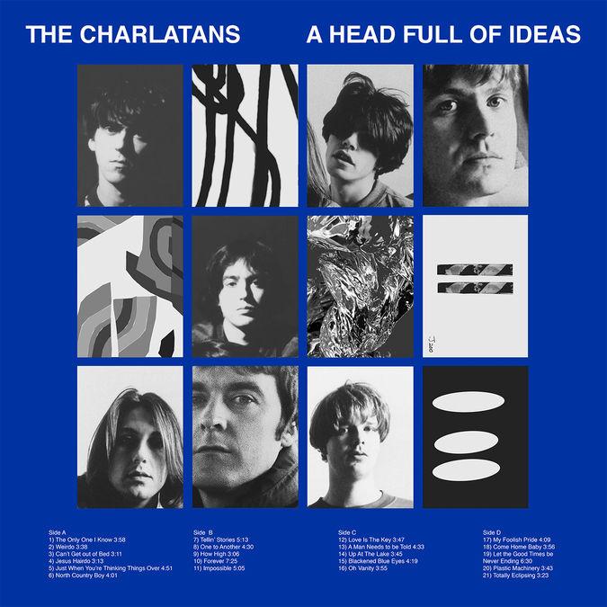 The Charlatans: A Head Full Of Ideas: CD