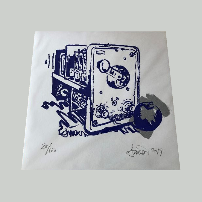 Silver Apples: Oscillations: Signed Limited Lathe Cut Vinyl