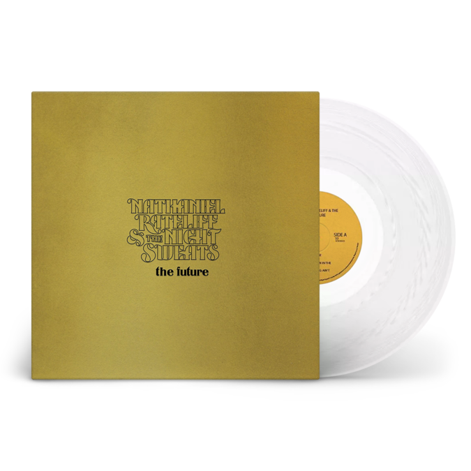 Nathaniel Rateliff & The Nightsweats: The Future: Limited Edition Clear Vinyl LP + Signed Art Print
