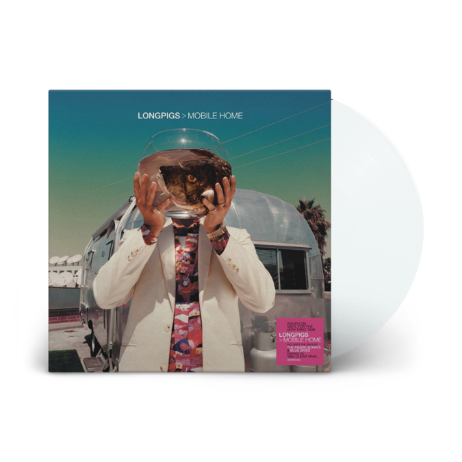 Longpigs: Mobile Home: Limited Edition Clear Vinyl LP
