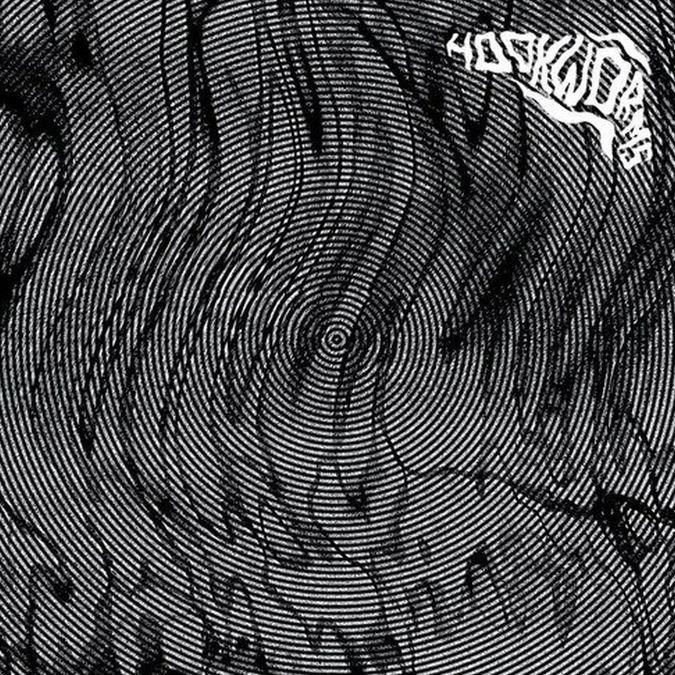 Hookworms: Hookworms: Black & White Splatter Vinyl