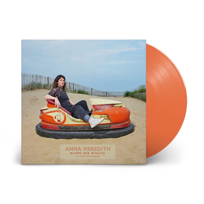 Anna Meredith: Bumps Per Minute – 18 Studies For Dodgems: Signed Pumpkin Vinyl LP w/ Random Sleeve