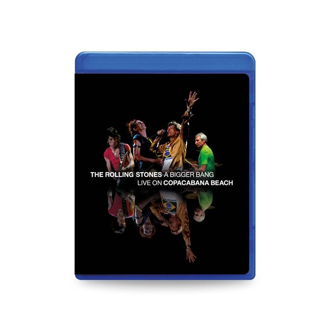 The Rolling Stones: 'A Bigger Bang' Live On Copacabana Beach: SD Blu-Ray + 2CD
