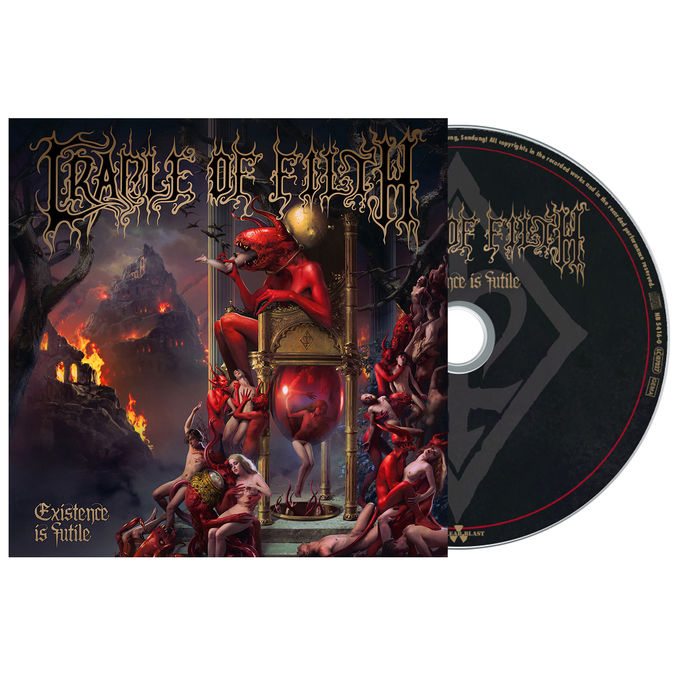Cradle Of Filth: Existence Is Futile: Limited Edition Digipack CD